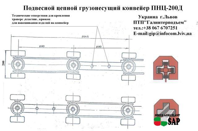 конвейер ПНЦ-200Д